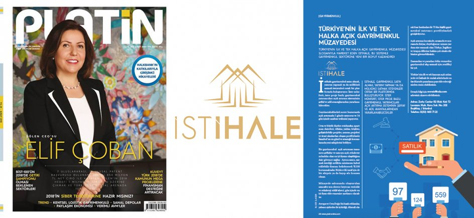İSTİHALE IS FEATURED IN THIS MONTHS PLATİN MAGAZINE
