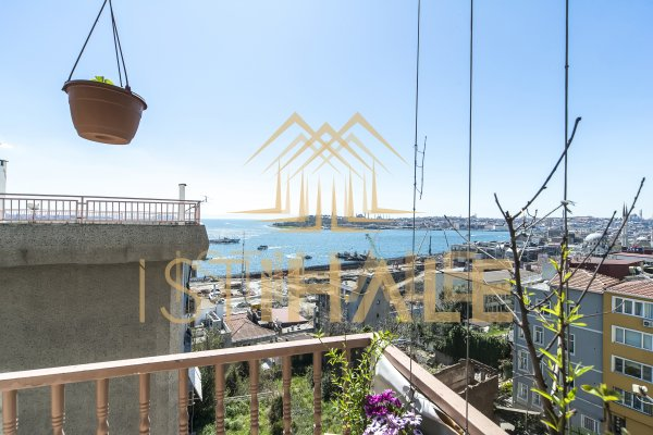 3 Bedroom Apartment in Hip Area of Cihangir With Sea View
