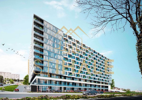 1 bedroom residence apartments with sea view in Beylikdüzü
