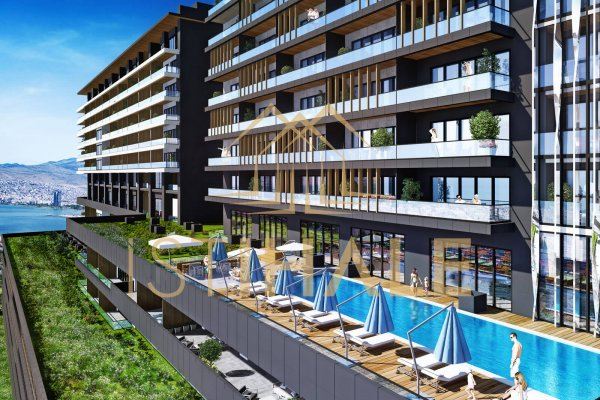 New Luxury Apartments For Sale İn İzmir